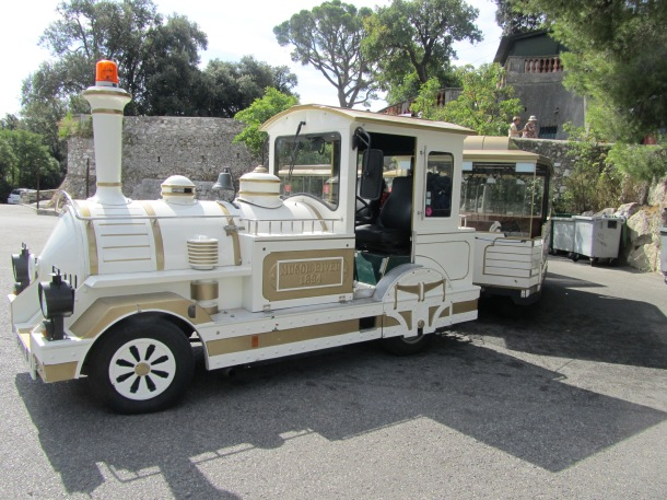 Little tourist train I took. So cute!