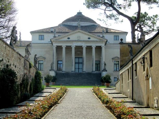 The famous Palladian villa – La Rotonda