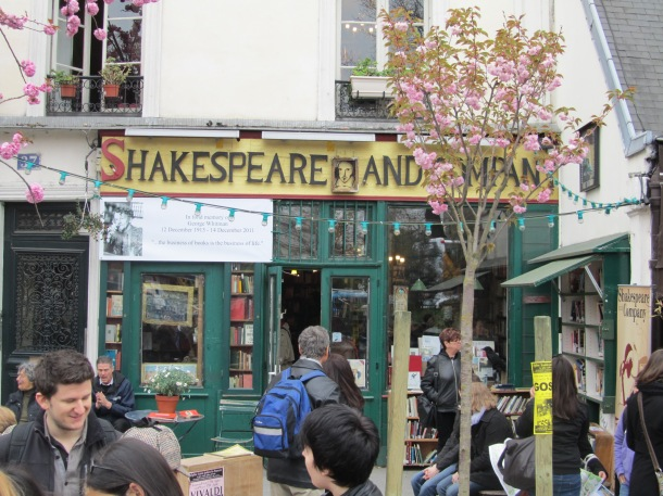 As every English student must do, I also visited Shakespeare and Company.