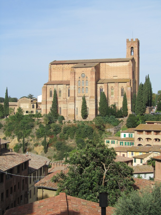 San Domenico, the church of Siena's patron saint, St Catherine